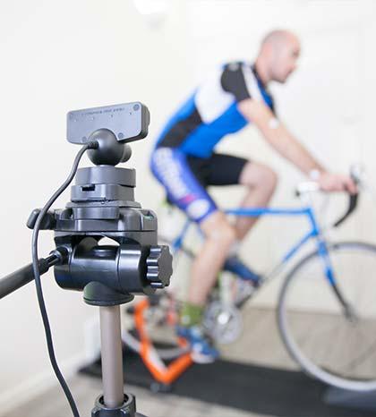 Dynamische fietspositiemeting